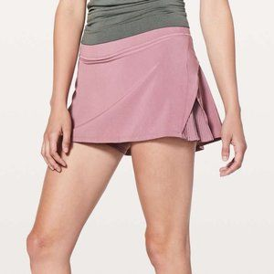 """lululemon Play Off The Pleats Skirt 13"""" Figue Size 10"""